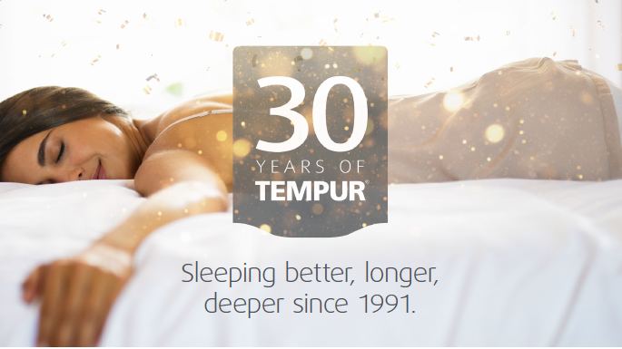 In 2021 bestaat TEMPUR® alweer 30 jaar.